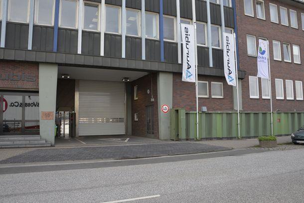 Eingang Hovestr. 50