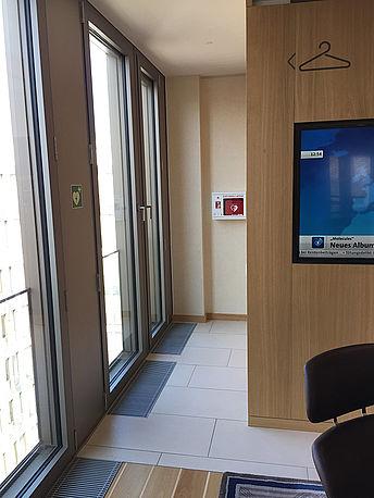 AED Konferenzbereich 7.Stock