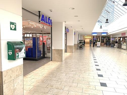 AED vor ALDI